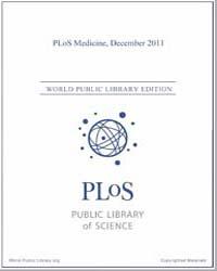 Plos : Medicine, December 2011 Volume 8 by Barbour, Ginny