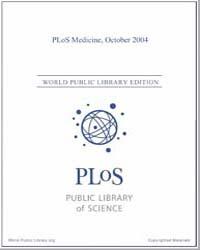 Plos : Medicine, October 2004 Volume 1 by Barbour, Ginny