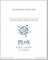 Plos : Medicine, October 2008 Volume 5 by Barbour, Ginny