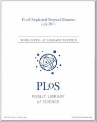 Plos : Neglected Tropical Diseases, July... Volume 5 by Check, Erica