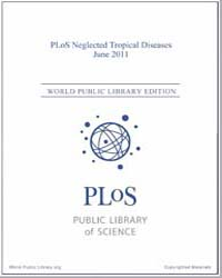 Plos : Neglected Tropical Diseases, June... Volume 5 by Check, Erica