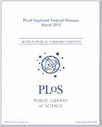 Plos : Neglected Tropical Diseases, Marc... Volume 6 by Check, Erica