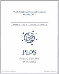 Plos : Neglected Tropical Diseases, Octo... Volume 5 by Check, Erica