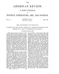 The American Whig Review : Volume 0001, ... by Wiley and Putnam