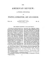 The American Whig Review : Volume 0003, ... by Wiley and Putnam