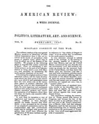 The American Whig Review : Volume 0005, ... by Wiley and Putnam