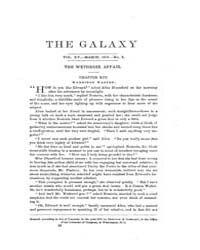 The Galaxy : Volume 0015, Issue 3 March ... by Sheldon and Company