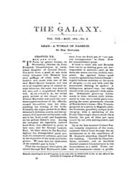 The Galaxy : Volume 0019, Issue 5 May 18... by Sheldon and Company