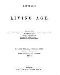 The Living Age : Volume 110, Issue 1413,... by The Living Age Company
