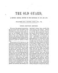 The Old Guard : Volume 0003, Issue 6 Jun... by C. Chauncey Burr and Co