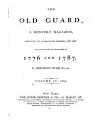 The Old Guard : Volume 0004, Issue 1 Jan... by C. Chauncey Burr and Co