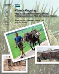 China's Ongoing Agricultural Modernizati... Volume Number 51 by Lohmar, Bryan