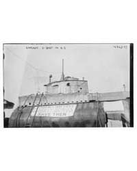 German U-boat in N.Y., Photograph Number... by Library of Congress