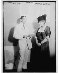 Will Hays and Katherine Ludington, Photo... by Library of Congress
