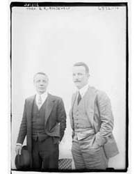 Theo. Jr. & K. Roosevelt, Photograph Num... by Library of Congress