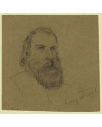 Confederate General James Longstreet, Ph... by Waud, Alfred R.