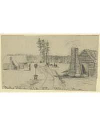 Parkes Station, U.S.M.R.R., Petersburg V... by Waud, Alfred R.
