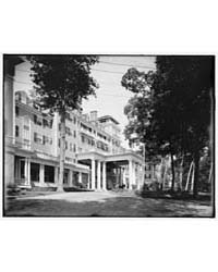 Hotel Aspinwall, East Front, Lenox, Mass... by Library of Congress