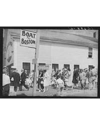Tourists, Fresh Off the Boat from Boston... by Library of Congress