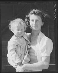 Wife and Child of Member of Hillview Coo... by Library of Congress