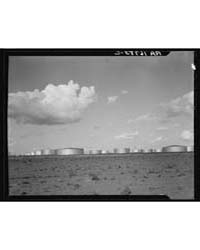 Oil Tank Farm Near Odessa, Texas, Photog... by Library of Congress