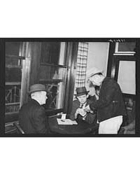 Dispatching Men to Work at the Union Hea... by Library of Congress