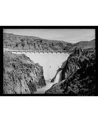 Owyhee Dam, Second Highest Dam in the Wo... by Library of Congress