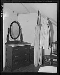 Interior of Room for Single Men at the P... by Library of Congress