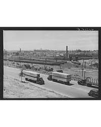 US Highway No 1 New York Avenue and Trai... by Library of Congress