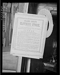 Sign in the Antique Building at the Worl... by Library of Congress