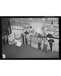 Auction at Union Livestock Commission Co... by Library of Congress