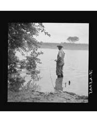 Farmer Fishing in Cane River on Fourth o... by Library of Congress