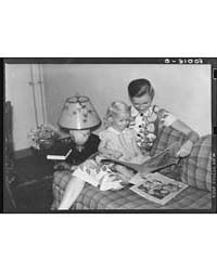 Mrs Betty Zimmerman and Her Child in Liv... by Library of Congress