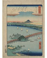 Seta No Sekisho, Photograph 00336V by Andō, Hiroshige