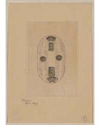 Oval Shaped Design Drawing of Seal or Ot... by Library of Congress