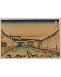 Edo Nihonbashi, Photograph 02464V by Katsushika, Hokusai