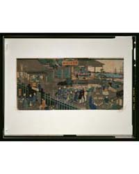 Yokohama Ijin Kan No Zu, Photograph 3G10... by Utagawa, Hiroshige