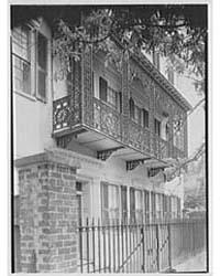 Charleston Ironwork Details, Charleston,... by Schleisner, Gottscho