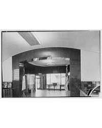 New York City Information Bureau. Interi... by Schleisner, Gottscho
