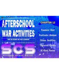Afterschool Military Activity 12 Volume No. 12 by Il-kwon, Ha