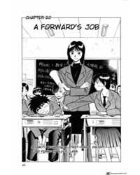 Fantasista 20: a Forward's Job Volume Vol. 20 by Kusaba, Michiteru