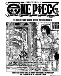 One Piece 545 : to the Outside World Whe... Volume No. 545 by Oda, Eiichiro