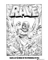Rave 207 : Break In!! the Stronghold of ... Volume Vol. 207 by Hiro, Mashima