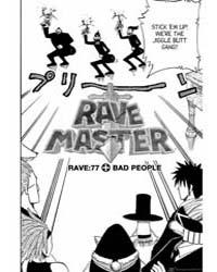 Rave 77 : Bad People Volume Vol. 77 by Hiro, Mashima
