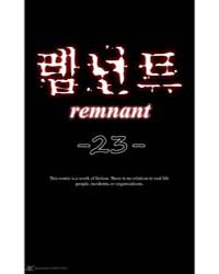 Remnant 23 Volume Vol. 23 by Taerang