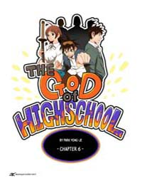 The God of High School 6 Volume Vol. 6 by Yong-je, Park