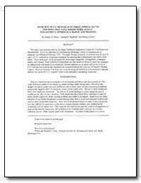 Overview of U.S. Research on Three Appro... by Peters, Robert H.
