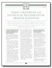 Temas Y Desafios de las Politicas de Tra... by Department of Health and Human Services