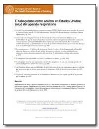 El Tabaquismo Entre Adultos en Estados U... by Department of Health and Human Services