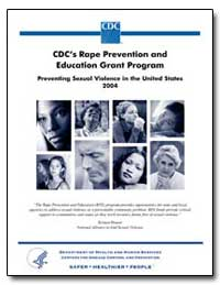 Cdc's Rape Prevention and Education Gran... by Department of Health and Human Services
